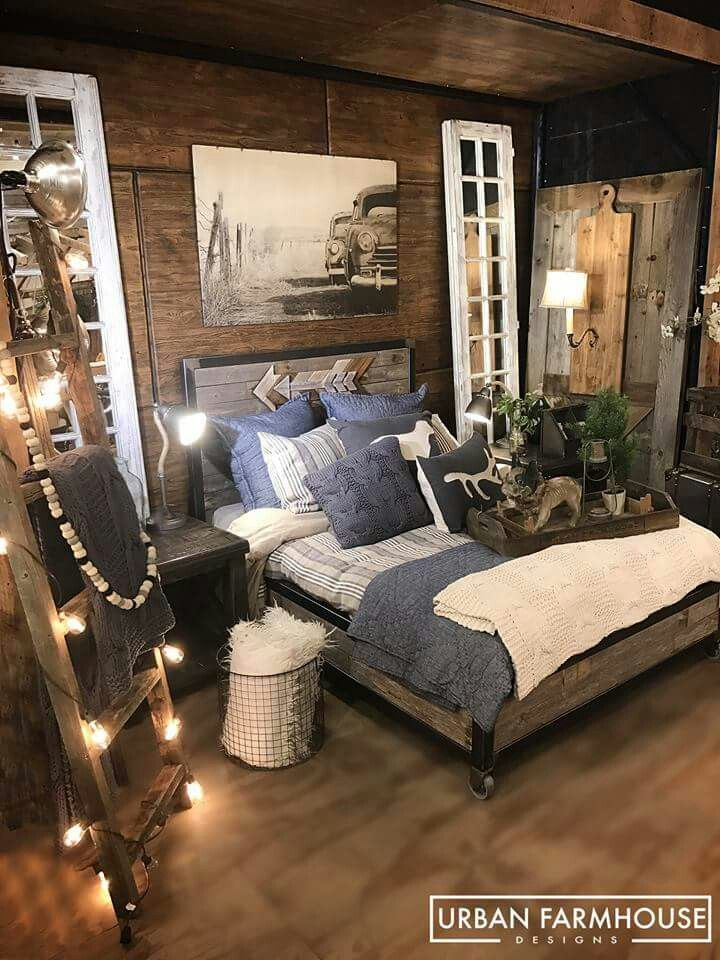 225 best urban farmhouse designs images on pinterest urban farmhouse designs country home Urban farmhouse master bedroom