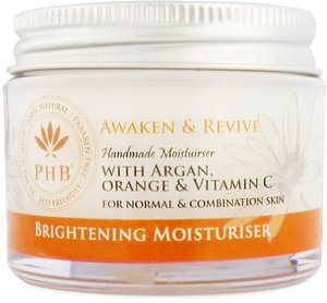 Brightening Moisturiser with Argan, Orange & Vitamin C for Normal and Combination Skin. With Argan, Orange & Vitamin C
