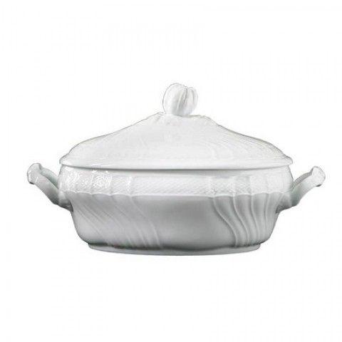 Vecchio Ginori White Tureen with cover 107 oz | Gracious Style