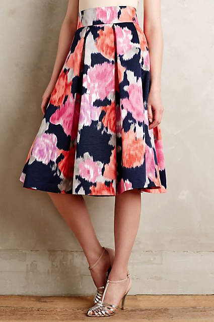 Angelique Midi Skirt - anthropologie.com #anthrofave #anthropologie