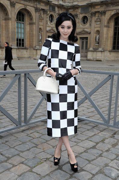 Fan Bingbing - Louis Vuitton - Front Row - PFW F/W 2013