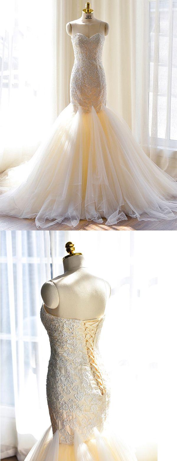Best 25 Mermaid Wedding Dresses 2017 Ideas On Pinterest