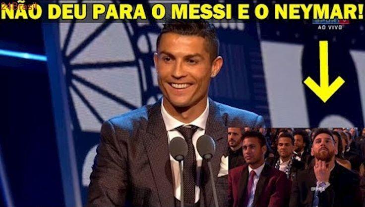Olha o que Cristiano Ronaldo falou ao ser eleito pela 5ª vez melhor jogador do mundo