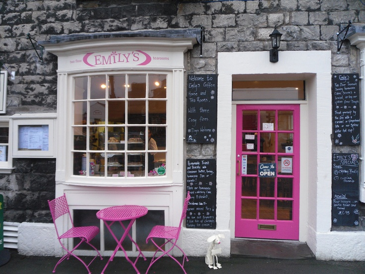 Emily's tea rooms- Kirkby Lonsdale, Carnforth, England, UK.