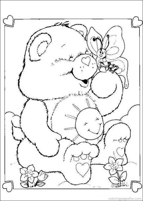 Care Bears Coloring Pages 1 Book InfoKids