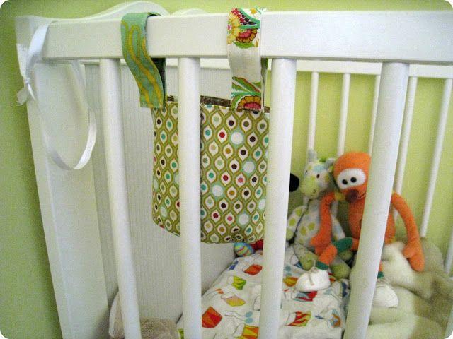 Tutorial guarda-chupetes de cuna / DIY keep-baby's dummy for  cot