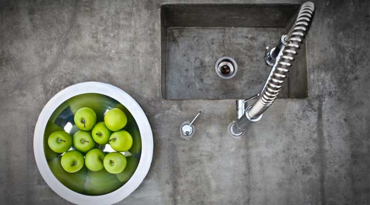 Custom Concrete Benchtops - Kitchens and Bathrooms