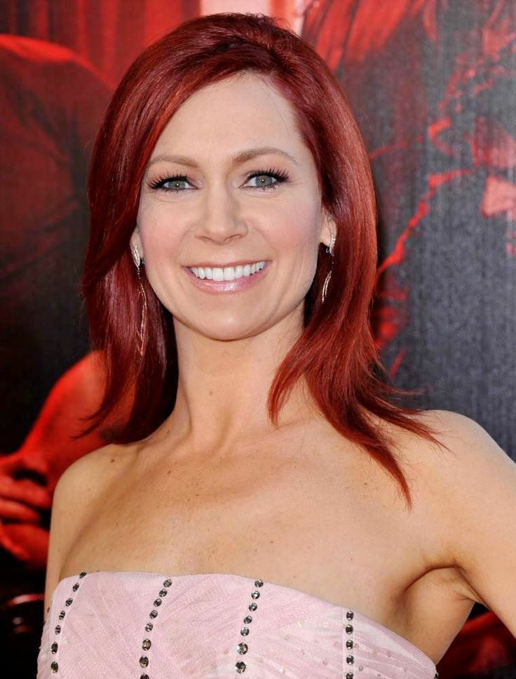 Carrie Preston ~ Arlene- True Blood ~ love her hair colour!