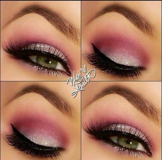 9 Beautiful Shades of Pink Eye Makeup for Wedding. maquillaje para xv años