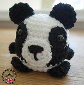 balenciaga mens Ravelry  Doodle Zoo 5  Peggy the Panda pattern by Heather C Gibbs