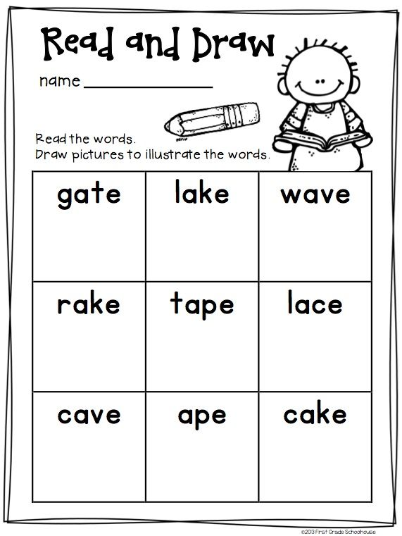 Long a Word Work Activities CVCe Words. $ Activities to practice and reinforce long vowel phonics skills.