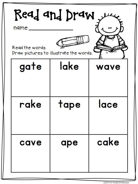 Number Names Worksheets » Free Long A Worksheets - Free Printable ...
