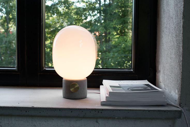 Bordslampa JWDA Concrete Lamp av Jonas Wagell för Menu #betonglampa