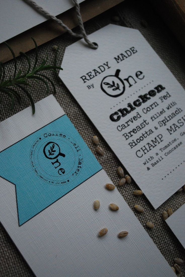 Ready made meal packaging design and restaurant branding by Kingston Lafferty Design