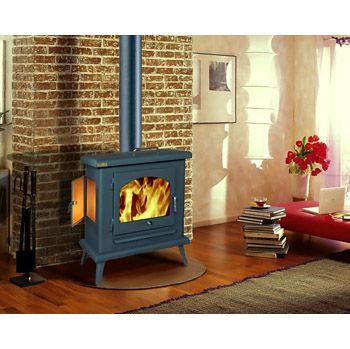 M s de 1000 ideas sobre estufas de le a en pinterest for Estufa hogar moderna