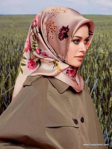 Armine Black Silk Hijab