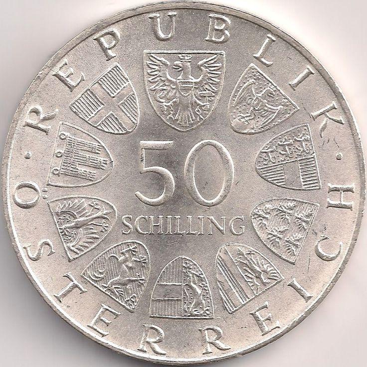 Wertseite: Münze-Europa-Mitteleuropa-Österreich-Schilling-50.00-1974-Österreichischer Rundfunk