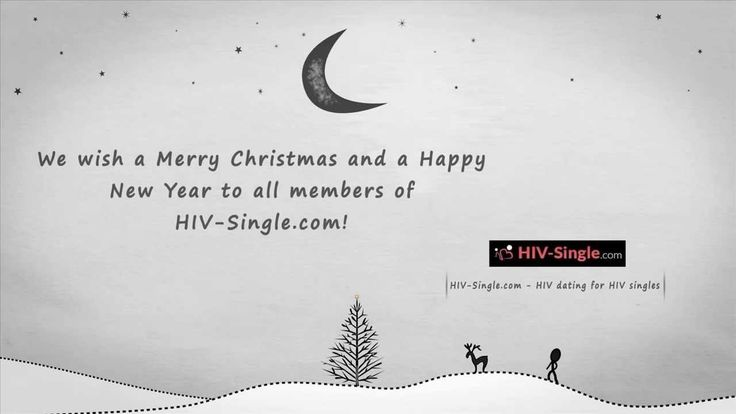 http://www.HIV-Single.com - HIV dating for HIV Singles - wishes a Merry Christmas and a Happy New Year to all HIV singles!