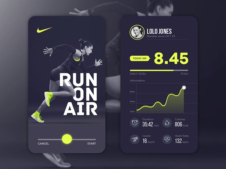Daily UI #3 - Nike                                                                                                                                                                                 More
