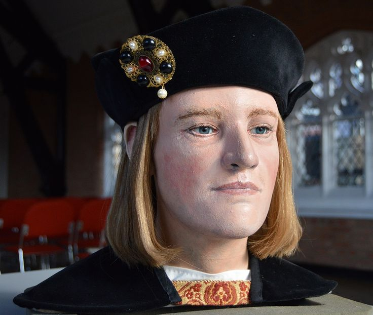 King Richard III – as you've never seen him before… Yesterday, the King Richard III Visitor Centre unveiled an updated version of