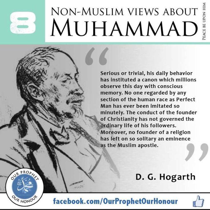 08 D. G. Hogarth on Prophet Muhammad S.A.W