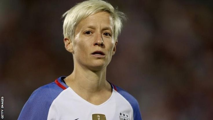 """Megan Rapinoe a goal-scoring winger is one of the top players in the National Womens Soccer League in America  Fifa  has shown it does not care about the women's game by naming a  little-known striker on its female player-of-the-year shortlist World  Cup-winner Megan Rapinoe says.  The nominees are US midfielder  Carli Lloyd Dutch forward Lieke Martens and Venezuelan Deyna  Castellanos 18 who does not play in a professional league. """"The  award just doesn't hold a lot of weight when you've…"""