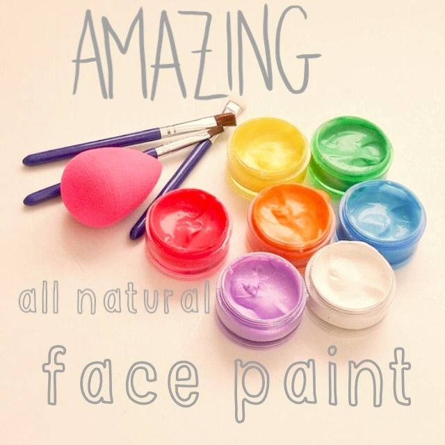 How To Make Natural Face Paint