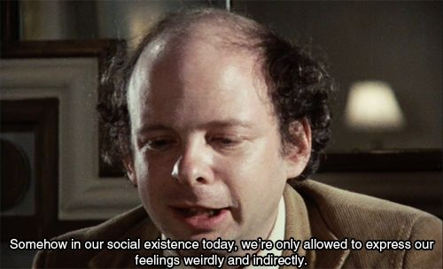 My Dinner with Andre (1981) Wallace Shawn is amazing. Saw a great version of this done at Wash U many many years ago.