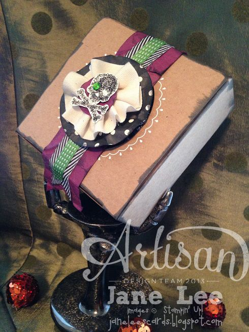 ☠ Schädel-Leckerbissen-Box Sept – AWW 1. September | Jane Lee janeleescards.blo …
