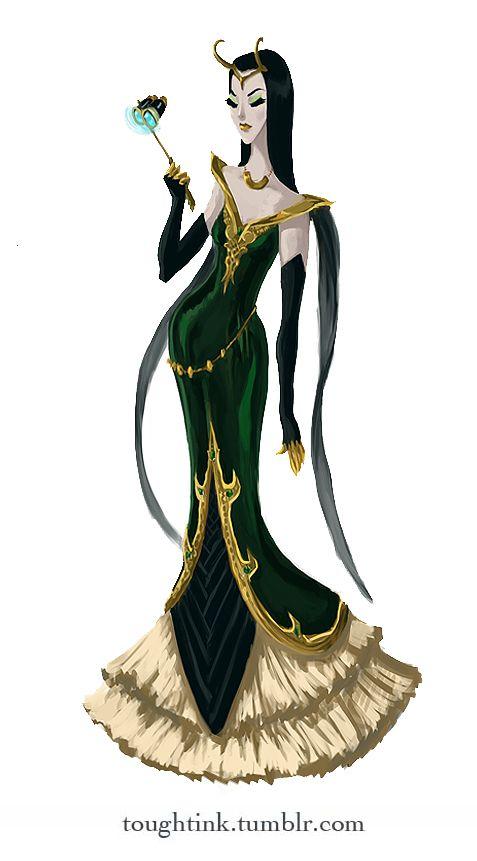 Avengers Gowns: Loki @Elizabeth Gathe formal wear for comic con??? ;)