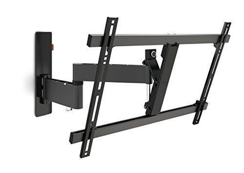 vogels wall 2345 support mural double bras inclinable jusqu 20 degrs et orientable jusqu