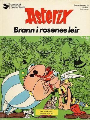 """""""Asterix - brann i rosenes leir"""" av René Goscinny"""