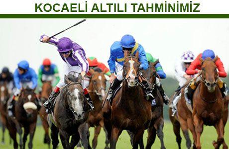 22 MART 2016 - KOCAELİ ALTILISI (BY HİKO) | At Yarışı Tahminleri