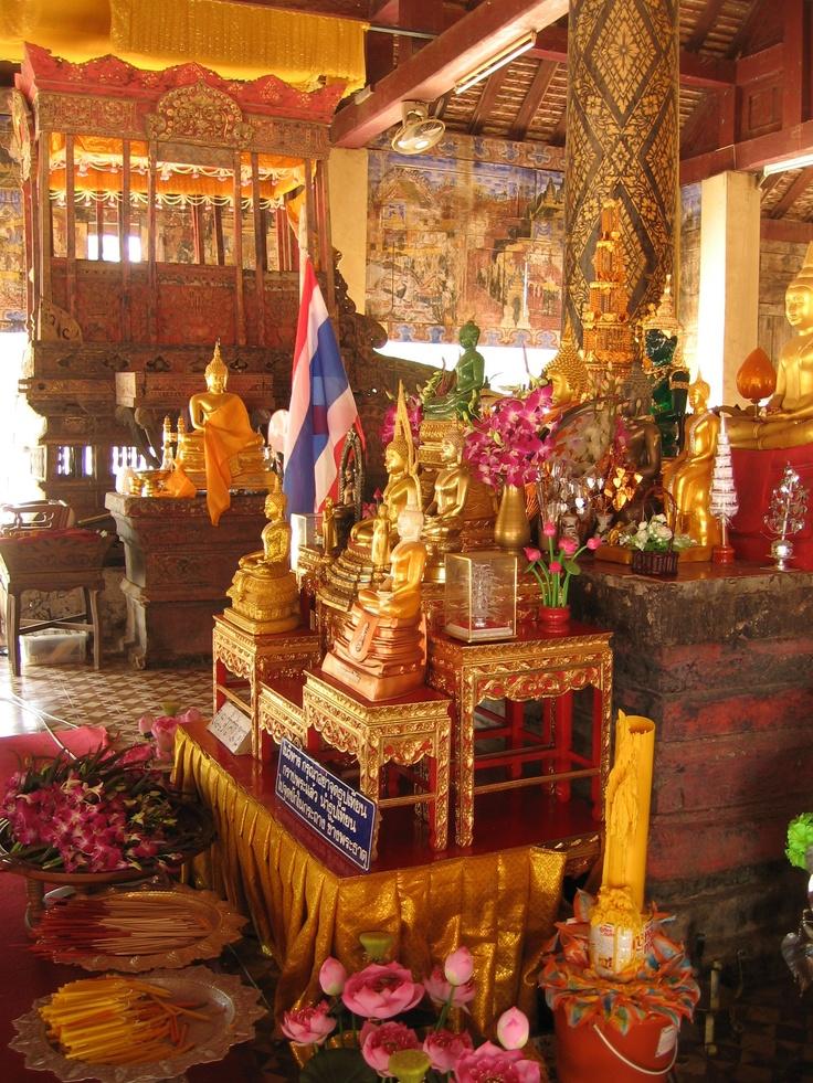 Wat lampang luang, Thailand