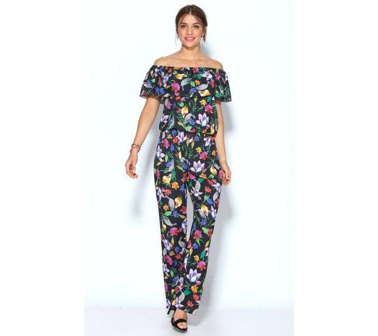 Overal s kvetinovou potlačou | modino.sk #ModinoSK #modino_sk #modino_style #style #fashion #summer #overal