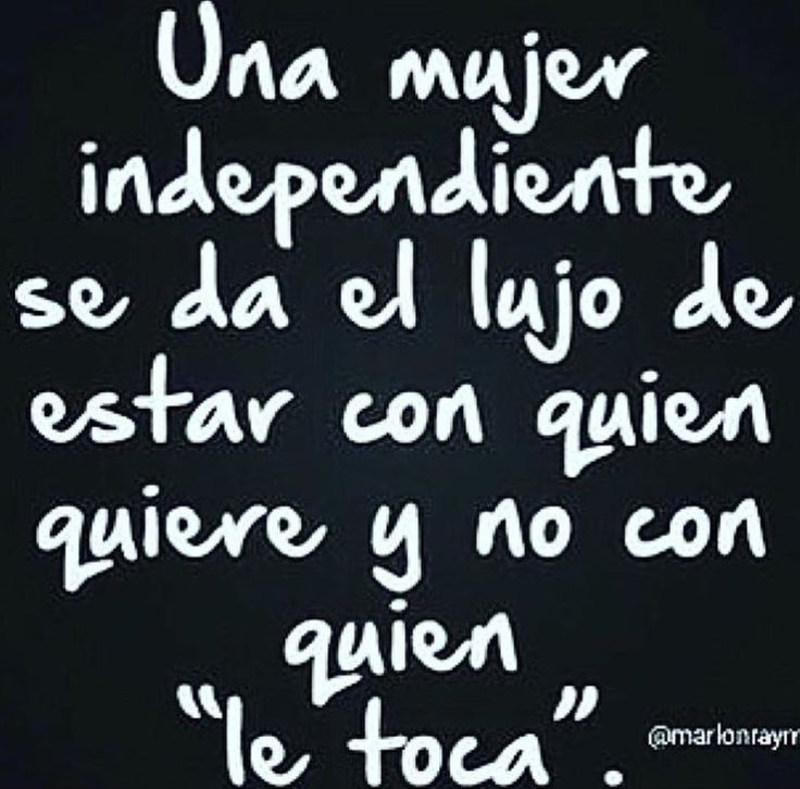 Mujer independiente
