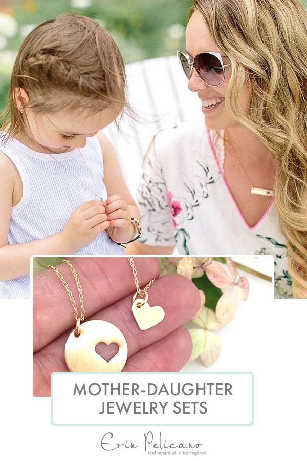 The bond between mothers and their daughters is one that outlasts the tests of time. This Mother's Day, celebrate mom with handcrafted pieces you can both wear close to your heart. Consider a 14k Gold single heart cut out, with a matching heart pendant from Erin Pelicano. All pieces arrive in a gift box and personal, hand-written gift notes can be included upon request.
