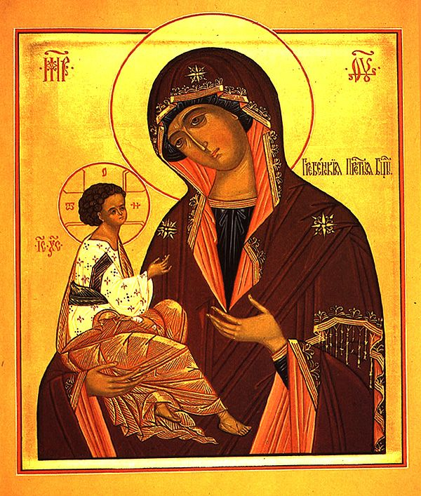 Icon of the Mother of God of Greben - Orthodox Church in America