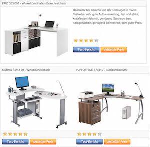 Eckschreibtisch Winkelschreibtisch Büroschreibtisch - Tests › http://www.eckschreibtisch-vergleich.com/eckschreibtisch-winkelschreibtisch-bueroschreibtisch-vergleichstabelle-testsieger/
