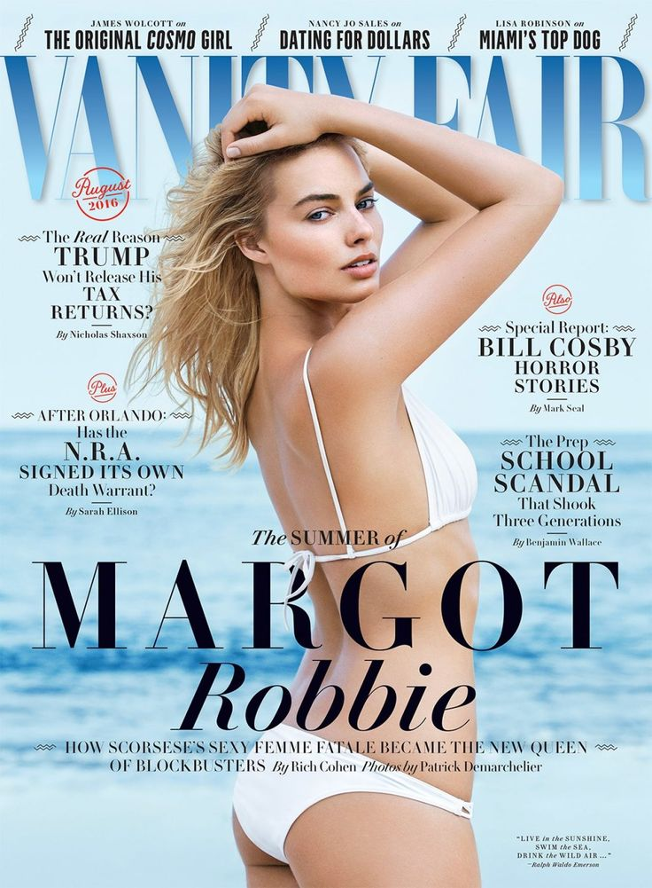Margot Robbie Vanity Fair August 2016