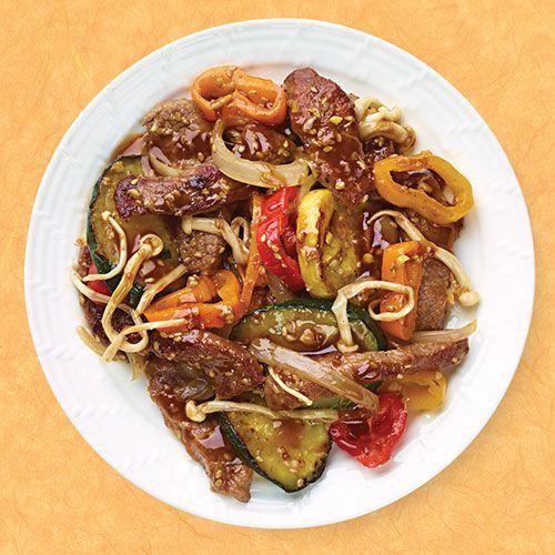 Organic Sesame Garlic Beef Stir Fry - Wegmans