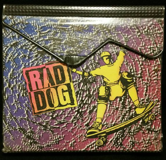 Hey, I found this really awesome Etsy listing at https://www.etsy.com/listing/482309656/vintage-mead-rad-dog-trapper-keeper