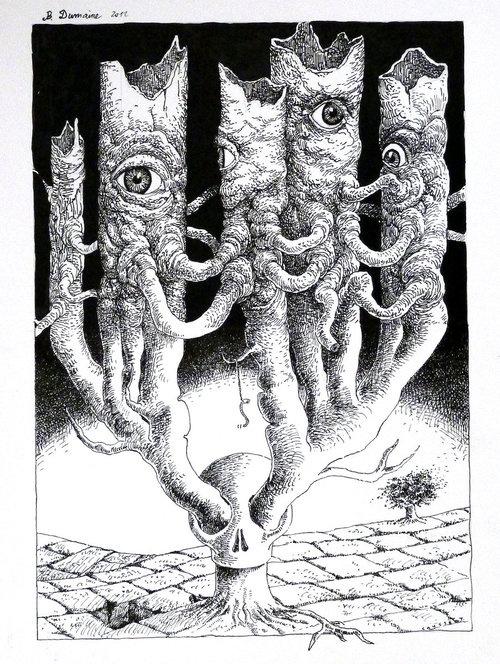 Skull's out by Bernard Dumaine.