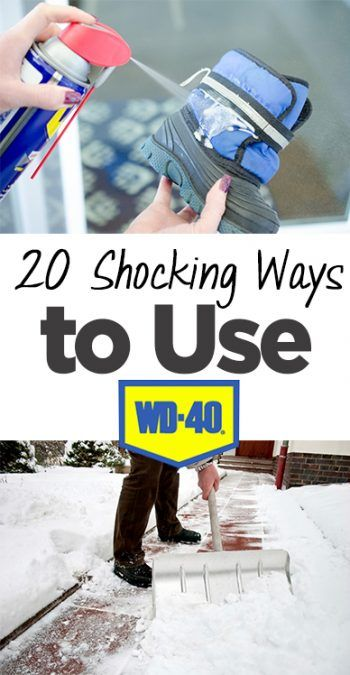 Uses for WD-40, How to Use WD-40, Cleaning, Cleaning Tips, Cleaning Hacks, Ways to Use WD-40, WD-40 Cleaning Hacks, Popular Pin
