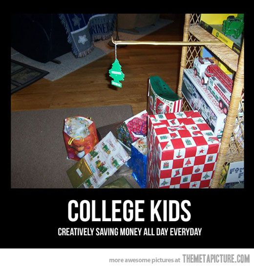Christmas in College…