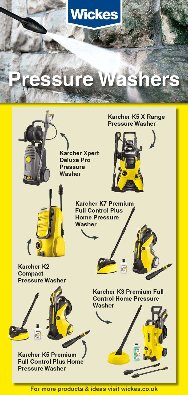 Karcher Pressure Washers Are Perfect For Dealing With Every Outdoor Cleaning Task With Speed Pressure Washer Pressure Washer Accessories Washer Accessories