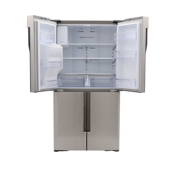 Samsung 28.1 cu. ft. French Door Refrigerator in Stainless Steel-RF28K9070SR - The Home Depot