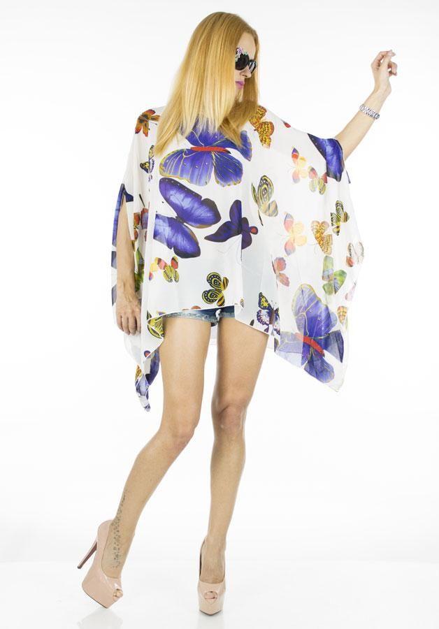 Bluza Dama Flowers  Bluza dama cu model atractiv ce poate fi purtata cu usurinta la diferite ocazii. Ideala in sezonul cald datorita materialului foarte lejer.     Compozitie:100%Poliester