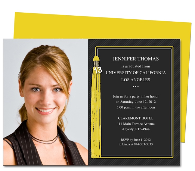 Graduation Announcement Template Senior Announcement Template