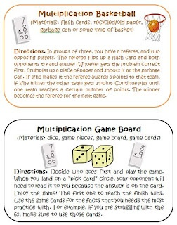Common Core Multiplication Intervention Activities. Great blog post with many ideas for